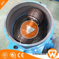 Hot sale Strongwin ZLSP-230B portable mobile flat die small wood biomass pellet machine for fuel