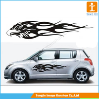 Customized Car sticker,sample car sticker logo design