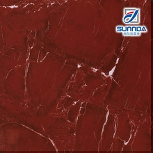Full polished glazed porcelain tiles,marble look vinyl flooring red tiles,marble glazed floor tiles
