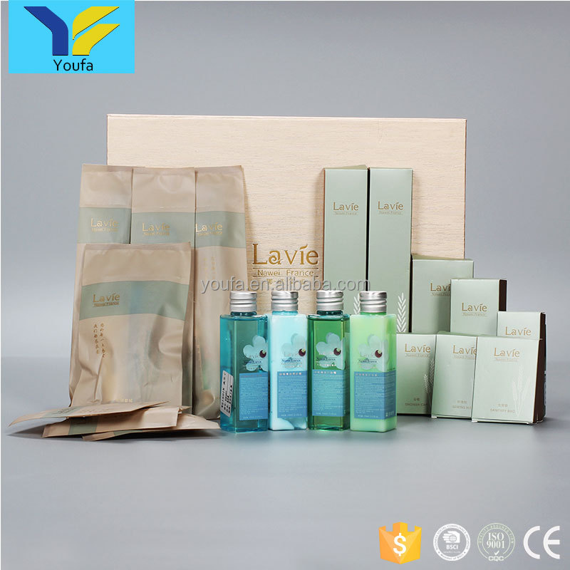 Cheap disposable items set hotel toiletries wholesale bathroom amenities list hotel amenity set
