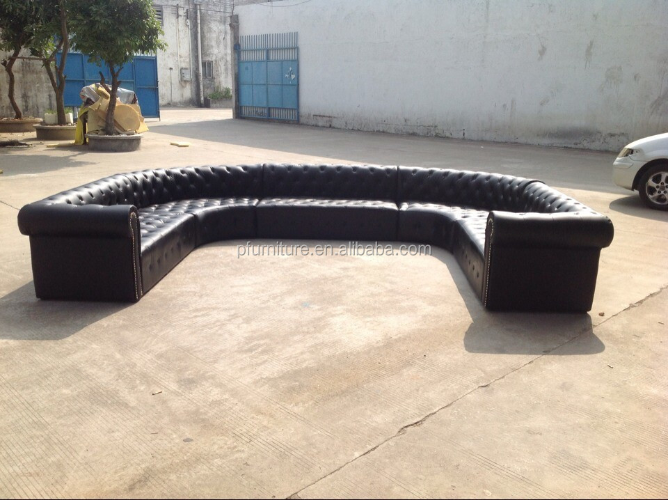Bar furniture sofa set black sofa set cheap chesterfield sofa PFS3362