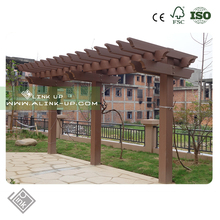 Patio Outdoor Pergola And Garden Garden Bridge Composite Decking Wire Pergola