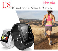 Sport water resistant bluetooth smart u8 watch mtk 6261 gsm wrist smart watch phone a1 smart watch