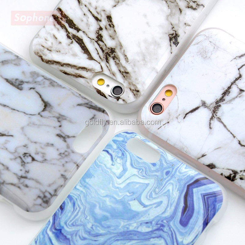 New Arrival Granite Scrub Marble Stone image Painted Phone Case Soft TPU Case for iphone 5 5s SE 6 6s 6Plus 7 7plus Phone Case