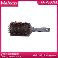 Mefapo 3019 Large Square Cushioned Paddle Plastic Hair Brush