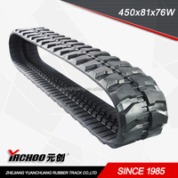 rubber track (450*81**linksW)