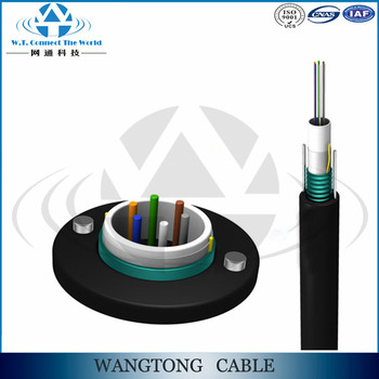 Gyxtw g655 fiber optical cable 4 core armoured fiber optic cable