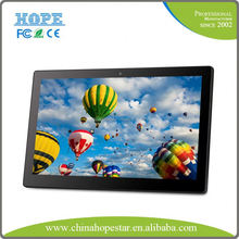 High quality 15.6 to 42 Inch Wall mounted LCD Advertising display / touch screen kiosk