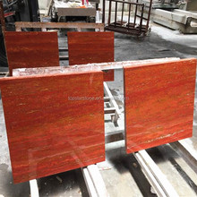 China Red Travertine Supplier Persian Red Travertine