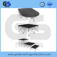 Aluminum foldable stage , choral stage , concert stage for church