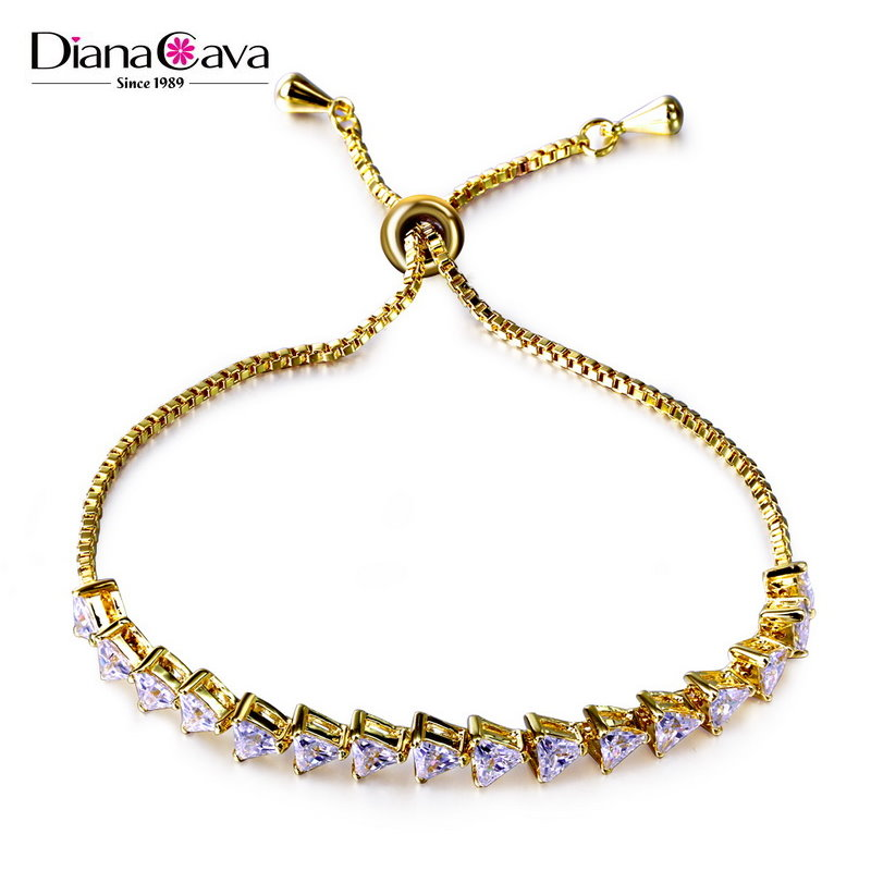 New Products 2016 Cubic Zirconia Wholesale Jewelry Lady Fashion Top Brands Bracelet