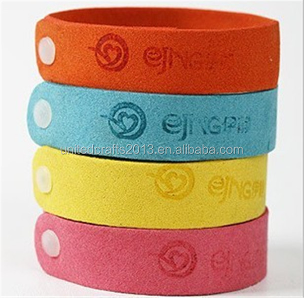 Deet Free All Natural Citronella Mosquito Insect Repellent Wristband for Kids