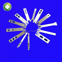 Wholesale cheap high quality durable silver stainless steel saw blade for oscillating tool for amputation joint surgery