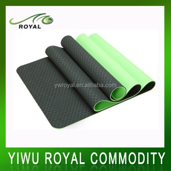 High Quality Floor Exercise Custom Label TPE Yoga mats