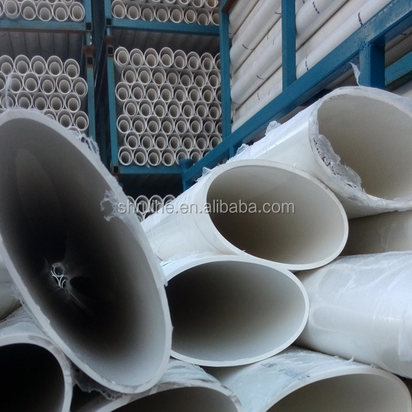pvc flat ellipse plastic oval pipe