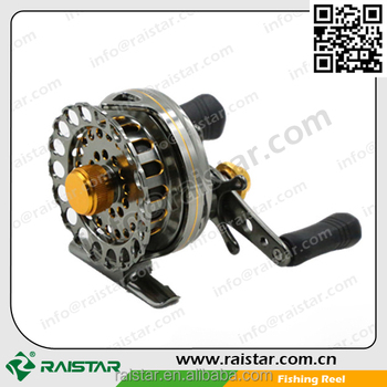 Raistar Manufacturing Direct Colored Classic Cheap Chinese CNC Machined Aluminum Center Pin Cassette Fly Fishing Reels