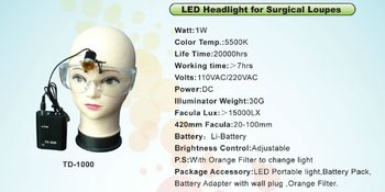 JD2200 Surgical LED headlight for Surgery loupe DENTAL LED LIGHT
