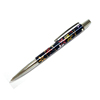 Best Selling Flower Pattern Promotional Brass Ballpoint Pen For Souvenir