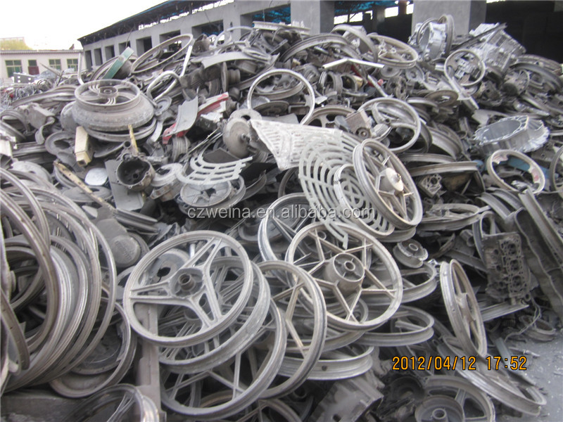 Factory hot sale aluminium alloy wheel scrap for sale