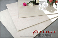 (e) Artist Ceramics white travertine tile