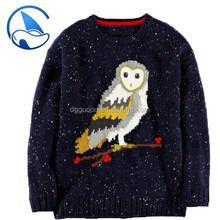 OEM Service Knitting Patterns Children Sweater For Kids Pullover