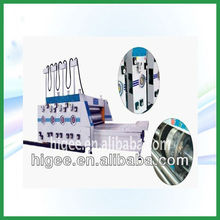 phase modulation four knives gear printing and slotting machine(Carton making machine)