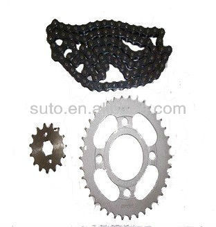Motorcycle Chain and Sprocket for CG125