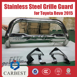 High Quality Revo Stainless Steel Grille Guard Toyota Hilux 2016