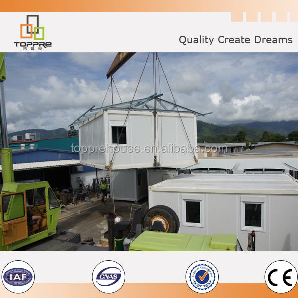 Luxury design prebuild container house for sale