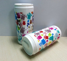 DEM-JET-6AUV digital flatbed printer for printing on glass plastic ceramic bottle round object