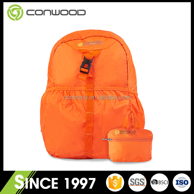 Quality and quantity assured reasonable price travel bag polyester folding hiking bag