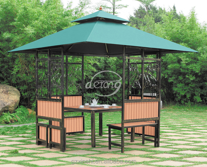 Patio Garden Outdoor Furniture Iron Gazebo Garden Supplies