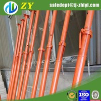 Painting /Paintd shoring prop used construction props Shoring