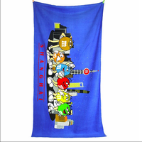 Logo Colour printing&CMYK printing&Digital printing--Health fashion beach towel top technology in China (Choose us, you