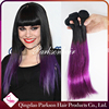 Cheap 100% Dark Purple Weave Filipino Hair High Quality 100% Human Hair Extensions