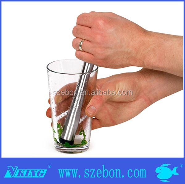 Wholesale stainless steel cocktail muddler