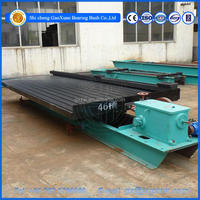 Gold sand Gravity separator machine, vibration shaker table for sale