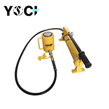 Yoci 20 t 60t 100t 30 ton floor jack single acting hydraulic cylinder