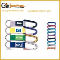 Wholesale Cheap Custom Lanyard Carabiner Keychain