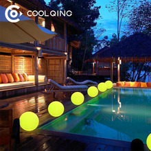 Rechargeable Led Light Waterproof Swimming Pool Ball Led Ball With 16 Colors Change