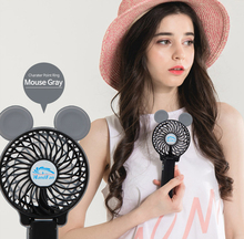 Novelty Kids Personal Handheld Personal Quite Electric Battery Usb Small Desktop Fan