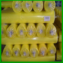 Yellow Poly Film Single Span Greenhouse