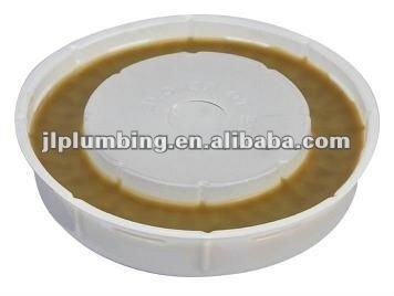 Wax gasket for toilet bowl