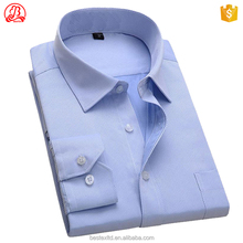 Custom 100% cotton new design fashion wholesale long sleeve formal dress shirts for men
