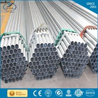 Mill in China steel tube gals/pre-galvanized steel pipe cost on sale