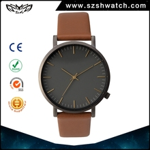 Professional oem manufacturer japan mov't stainless steel water proof watch with high quality