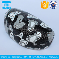 YT3060 Newest style patterned pu leather sunglasses case