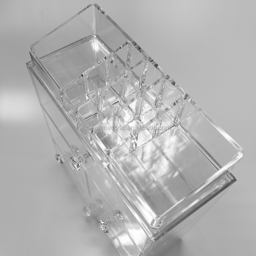 High Clear Acrylic Cosmetic Organizer Acrylic Make up Holder