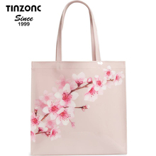 Large Icon - Pammcon Soft Blossom Pink Canvas Tote Promotion Bag