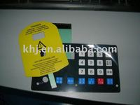 touch screen keyboard membrane switch